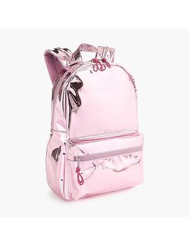 Girls' Metallic Backpack by J.Crew