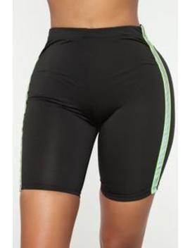 Raleigh Biker Shorts   Black by Fashion Nova