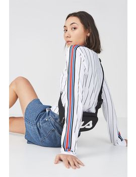 90 S Crop Ls Cuffed 2 by Cotton On
