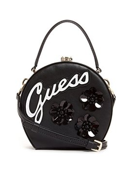 Guess Britta Embellished Round Mini Satchel by Guess
