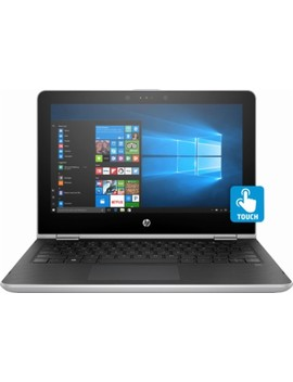 """Pavilion X360 2 In 1 11.6"""" Touch Screen Laptop   Intel Pentium   4 Gb Memory   500 Gb Hard Drive   Hp Finish In Natural Silver by Hp"""