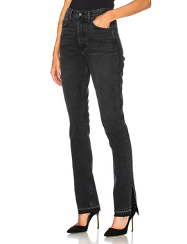 Natalia High Rise Skinny Split Jean by Grlfrnd