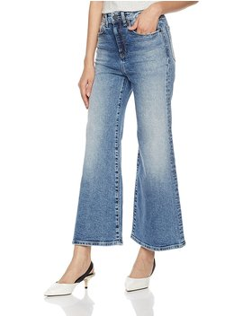 Hale Women's Orly High Waisted Wide Leg Jean by Hale