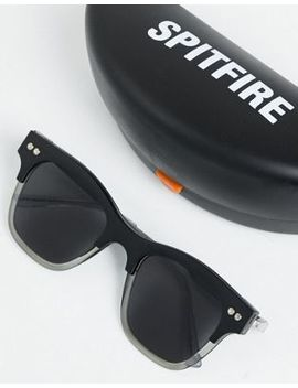 Spitfire Square Sunglasses In Black by Spitfire