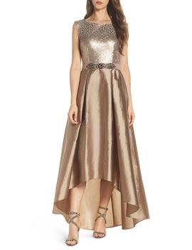 Ombré Sequin Ballgown by Adrianna Papell