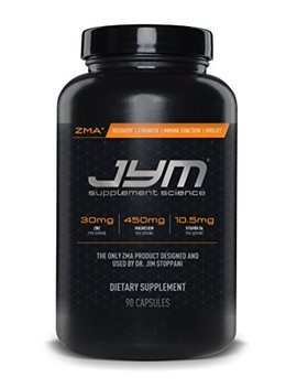 Jym Supplement Science, Zma Jym, Zinc And Magnesium Supplement, 90 Vegetarian Capsules by Jym Supplement Science