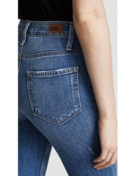 High Rise Sarah Slim Jeans by Paige
