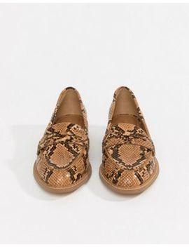 Asos Design Munch Loafer Flat Shoes by Asos Design