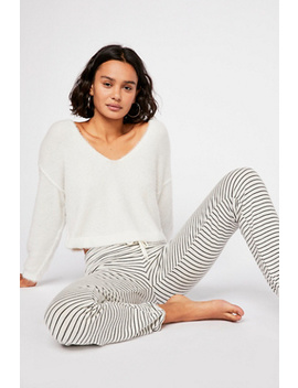 Supersoft Pinstripe Sweatpant by Free People