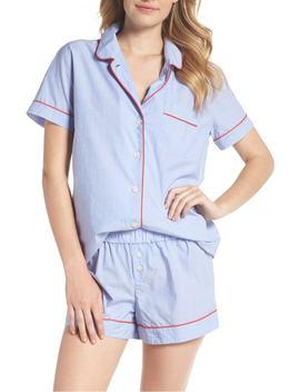 Tipped Pajama Set by J.Crew
