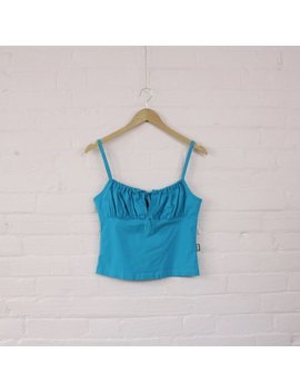 90s Ultra Stretch Club Tank Top · Sweetheart Neckline 90s Tanktop · 90s Belly Top · Front Tie 90s Shirt · 90s Cutout Top · 90s Crop Top · M by Etsy