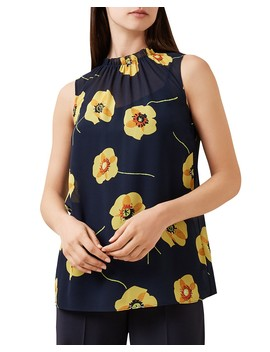 Faye Floral Print Top by Hobbs London