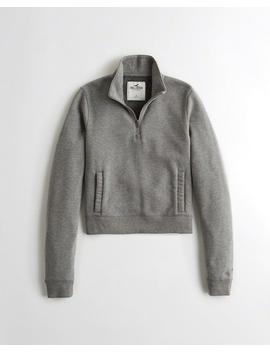 Half Zip Sweatshirt by Hollister
