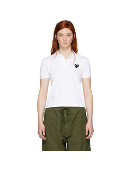 white-heart-patch-polo by comme-des-garÇons-play