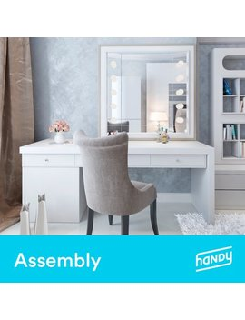 Bedroom Vanity Assembly By Handy by Handy