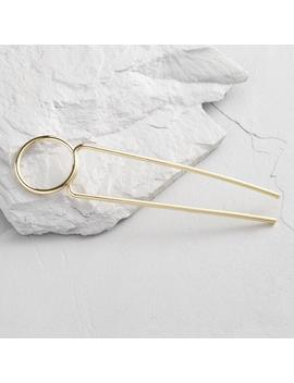 Gold Modern Bun Hair Pin by World Market