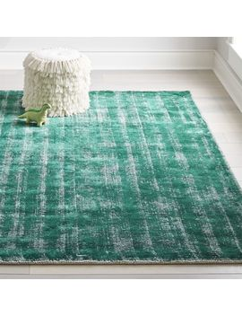 Green Patina Rug by Crate&Barrel