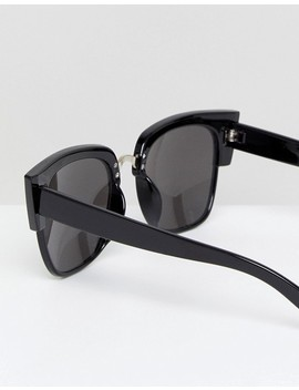 Glamorous Black Oversized Square Sunglasses by Glamorous