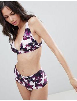 Y.A.S Floral Bikini Top by Y.A.S.