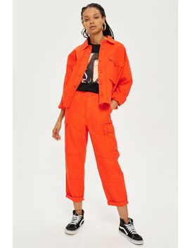Oversized Utility Trousers by Topshop