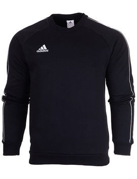 Adidas Mens Fleece Cotton Tracksuit Top Training Gym Jumper Sports Size S 2 Xl by Ebay Seller
