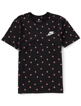 Sportswear Happy Faces Short Sleeve T Shirt by Generic