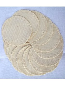 Organic Cotton Facial Rounds, Your Choice Of Pack Size. Comes With Wash Bag by Amazon