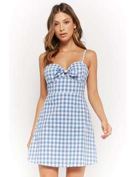 Vestido Estampado Cuadros Vichy by F21 Contemporary