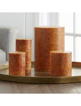 Pumpkin Spice Scented Candles by Crate&Barrel