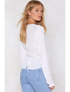 Soft Touch Broderie Blouse by Nasty Gal