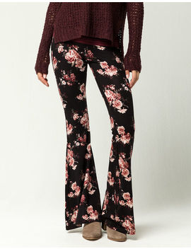 Ivy & Main Vintage Rose Womens Flare Pants by Ivy & Main