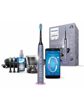 Philips Sonicare Diamond Clean Smart Electric Toothbrush   Cashmere Grey Edition (Uk 2 Pin Bathroom Plug) Hx9924/44 by Amazon