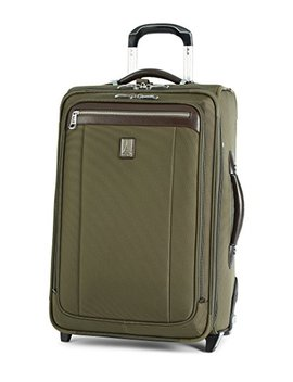 Travelpro PlatinumMagna2 Carry On Expandable Rollaboard Suiter Suitcase, 22 In, Olive by Travelpro