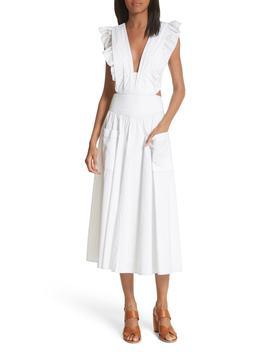 Cotton Poplin Dress by La Vie Rebecca Taylor