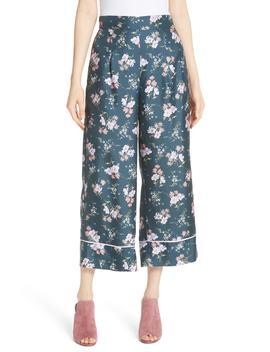 Emilia Silk Blend Pants by Rebecca Taylor