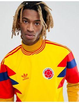 Adidas Originals Retro Colombia Soccer Jersey In Yellow Cd6956 by Adidas Originals