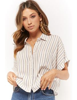 Camisa Holgada Rayas by F21 Contemporary