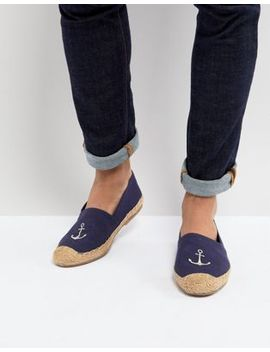 Frank Wright Embroided Espadrilles by Frank Wright