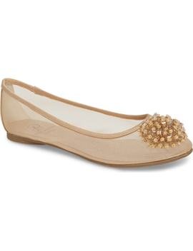 Stevie Embellished Flat by Adrianna Papell