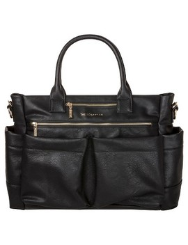 Honest Company Diaper Bag Everything Tote Black by Honest Company