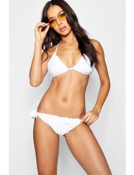 Anglais Traingle Bikini by Boohoo