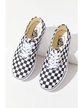 Vans Authentic Platform 2.0 Checkerboard Sneaker by Vans