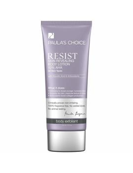 Resist Skin Revealing Body Lotion With 10 Percents Aha by Amazon