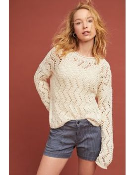 Sable Pointelle Pullover by Akemi + Kin