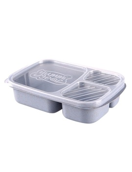 Meal Prep Containers 3 Compartment Lunch Boxes Food Storage With Lids Set Uk by Ebay Seller