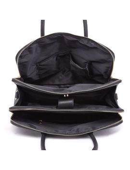 Women Pu Leather Shoulder Handbag Briefcase Satchel Laptop Bag Zipper by Unbrand