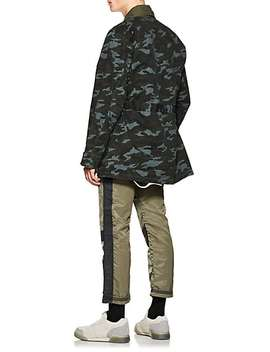 Camouflage Cotton Field Jacket by Nsf