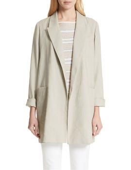 Malika Canvas Cloth Jacket by Lafayette 148 New York