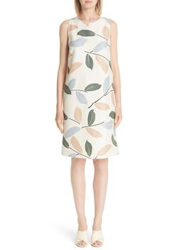 Hana Linen & Cotton Shift Dress by Lafayette 148 New York