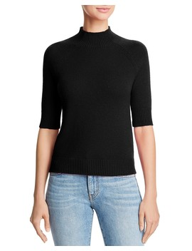Mock Neck Cashmere Sweater   100 Percents Exclusive  by Aqua